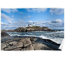 Lighthouse in Maine USA  Poster