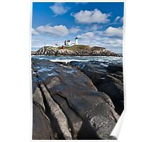 Lighthouse in Maine USA 3 Poster