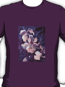 Quilted Iris With Beading T-Shirt