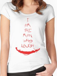 The man who laugh Women's Fitted Scoop T-Shirt