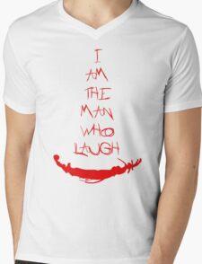 The man who laugh Mens V-Neck T-Shirt
