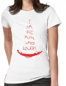 The man who laugh Womens Fitted T-Shirt