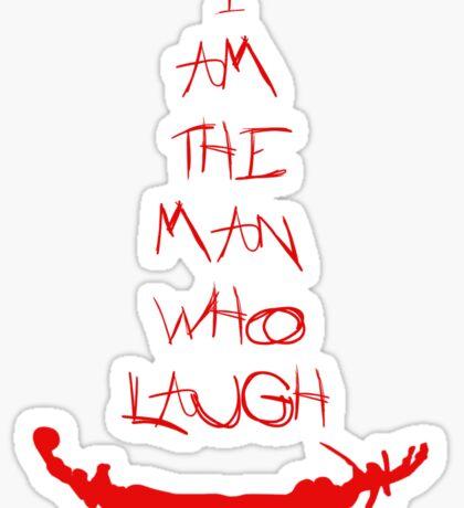 The man who laugh Sticker
