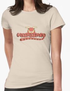 Rick and Morty: Gazorpazorpfield - Gimme My Darn Enchiladas! Womens Fitted T-Shirt