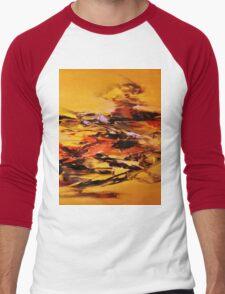FISH OUT OF WATER (3) Men's Baseball ¾ T-Shirt