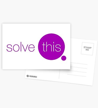 Solve This Greeting Card