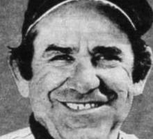 Yogi Berra Vintage 1983 Yankees vs Twins Opening Day Sticker