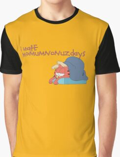 Rick and Morty: Gazorpazorpfield - I Hate  Momumnonuzdays Graphic T-Shirt