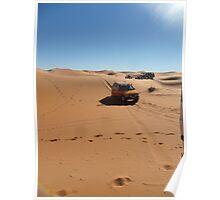 Atlas 2Travel Desert Caravan Poster Poster