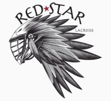 Red Star Headdress Shirt by Red Star Lacrosse