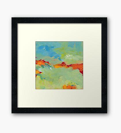 When Landscapes Sleep 1 Framed Print