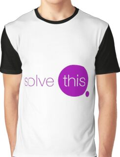Solve This Graphic T-Shirt