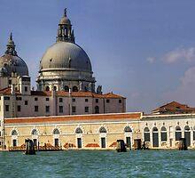 Santa Maria della Salute by Tom Gomez