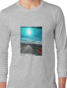 Atlas sky travel Tshirt Long Sleeve T-Shirt