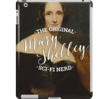 Mary Shelley - The Original Sci-Fi Nerd iPad Case/Skin