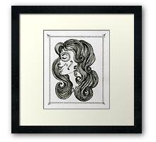 Sugar Skull Sweetheart II Framed Print