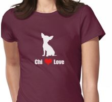 Chi Love Design Womens Fitted T-Shirt
