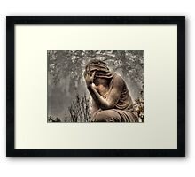 Weeping Angel #9 Framed Print