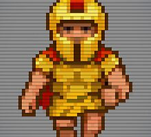 Pixel Legionary by skarmanami