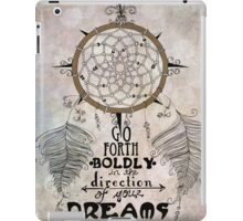 Go Forth Boldly iPad Case/Skin