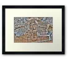 Weeping Angel #5 Framed Print