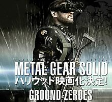 Metal Gear Solid V Ground Zeroes by AdrianTTD