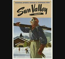 Vintage poster - Sun Valley Unisex T-Shirt