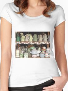 old kettles Women's Fitted Scoop T-Shirt