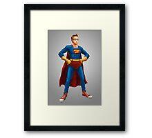 Geek Hero Framed Print