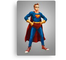 Geek Hero Canvas Print