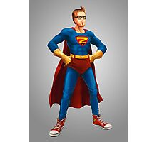 Geek Hero Photographic Print