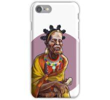 Masai Witch Doctor iPhone Case/Skin