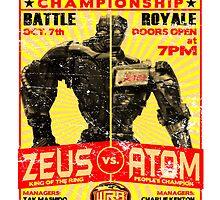 Zeus vs. Atom by superiorgraphix