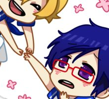 Sailor Free! [Rei and Nagisa] Sticker