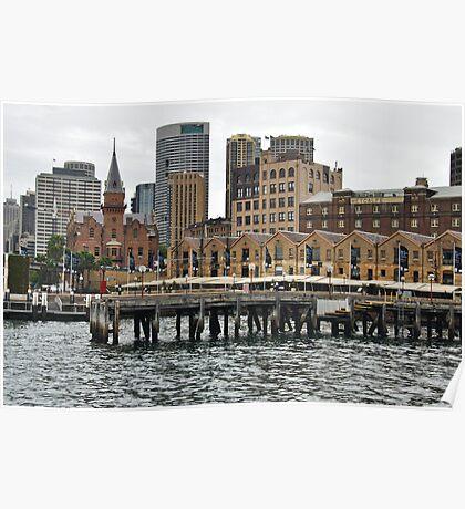 The Rocks, Sydney, Australia Poster