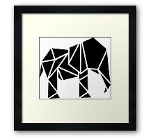 Cool Cut Elephant Framed Print