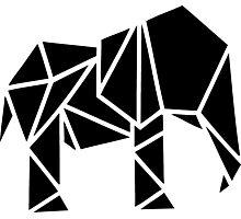 Cool Cut Elephant Photographic Print