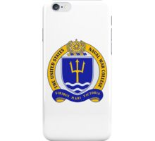 Naval War College Crest iPhone Case/Skin
