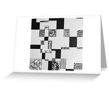 Nightmare Square Greeting Card
