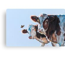 Just Another Day In The Paddock Canvas Print
