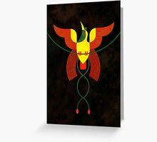 Bird of Paradise 8 Greeting Card