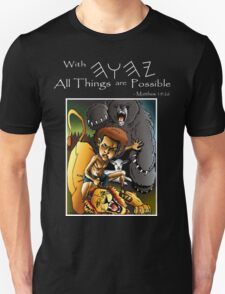 David & Lion (With YHWH All Things Are Possible) T-Shirt