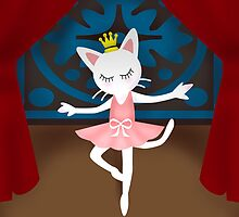 Ballet Cat by BATKEI