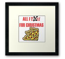 All I Need For Christmas Framed Print