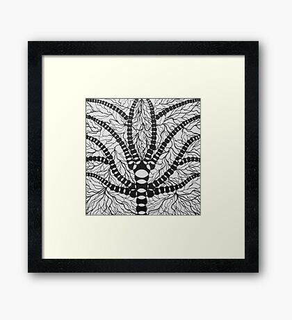 Cerebral Spider Framed Print