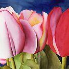 Triple Tulips by Ken Powers