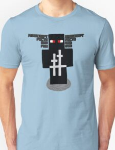 Ninja Design   Minecraft Facts And Fun T-Shirt