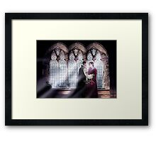 Outlaw Queen - Christmas In the Camelot Castle Framed Print