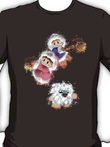 Abstract Ice Climber Duo T-Shirt