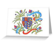 Heraldry Greeting Card